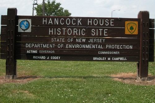 Hancock House Sign