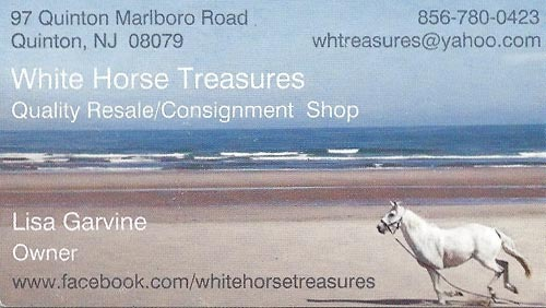 white horse treasures