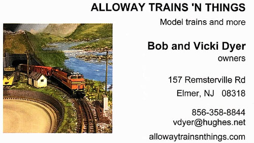 alloway trains things