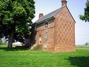 abel mary house - Patterned Brickwork Houses of Salem County