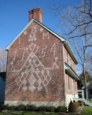 John Dickinson House from 1754